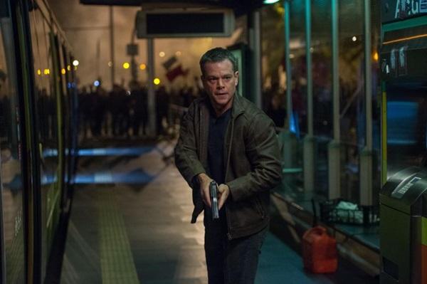 As cenas de ação dominam Jason Bourne (Reprodução/Internet)