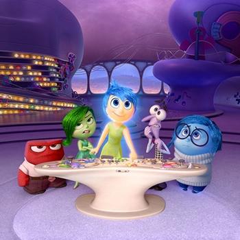Raiva, Nojinho, Alegria, Medo e Tristeza controlam a mente de Riley (Walt Disney Company/Divulgação)