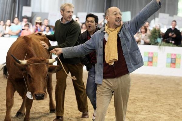 Fazendeiro leva vaca da Argélia à França para participar de feira agrícola (Reprodução/Internet)
