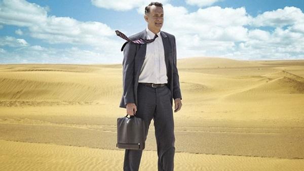 Personagem de Tom Hanks vai dos EUA para a Arábia Saudita por causa da crise (Reprodução/Internet)