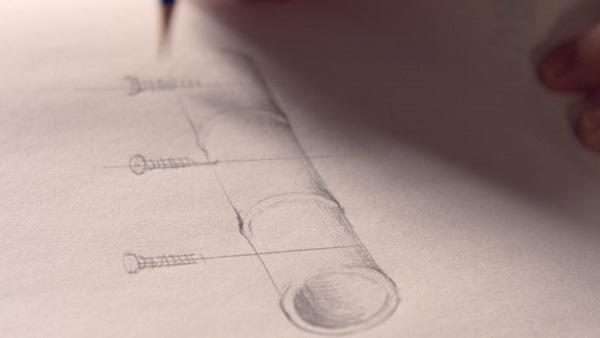 Do protótipo ao produto final %u2014 o episódio de estreia do reality fala sobre suporte para copos de café (Canal History/Divulgação)