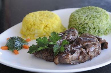 A picanha de cordeiro faz sucesso no Ready Beef (Zuleika de Souza/CB/D.A Press )