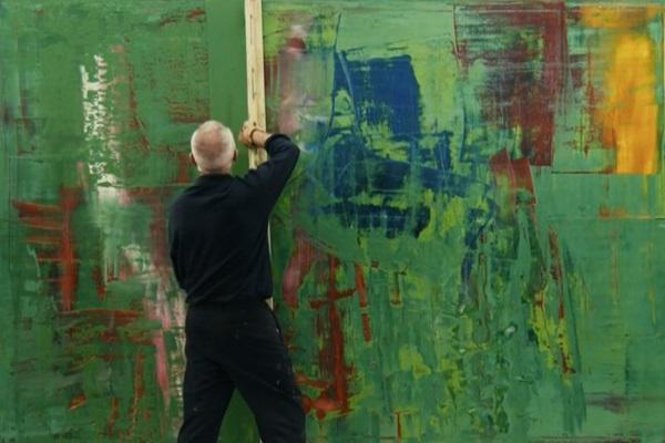 Corinna Belz desvendou os segredos do pintor alemão Gerhard Richter (Reprodução/Internet)