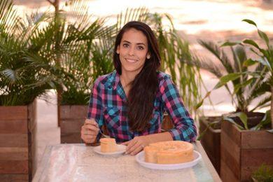 Bolo nordestino Luiz Felipe está entre os sabores da Bolos da Vovó, de Liliane Lima (Jhonatan Vieira/Esp. CB/D.A Press)