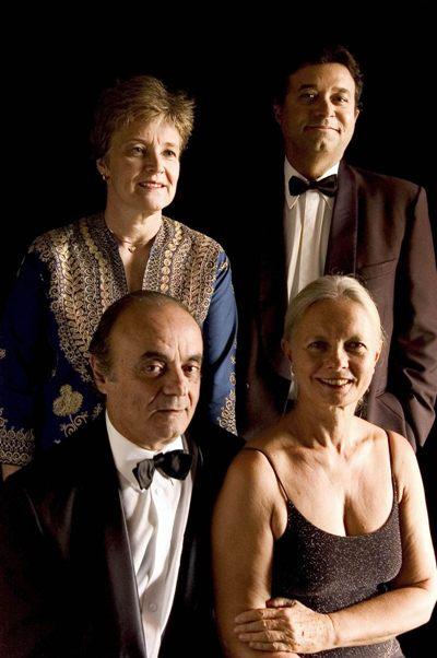 Quarteto de Brasília se prepara para lançar um DVD comemorativo de 30 anos de carreira (Camillo Righini/Divulgação)
