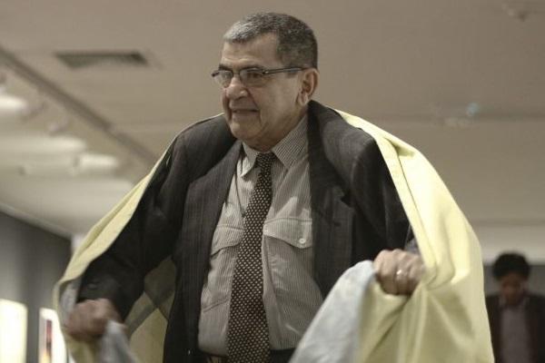 Ivald chegou a fazer uma performance na abertura da exposição, na Caixa Cultural (Mauricio Fonteles/Divulgação)