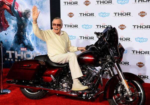 Stan Lee se mostra versátil com a criação da série 'Lucky man' (JOE KLAMAR)