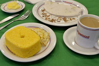 Café da manhã típico nordestino está entre as opções da panificadora Hollywood