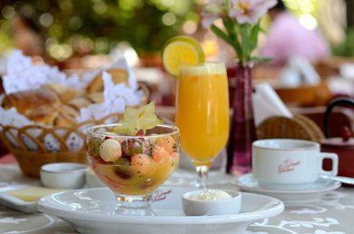 Comemoração de aniversário inspirou o café da manhã do café Daniel Briand (Wellington Nemeth/Divulgação )