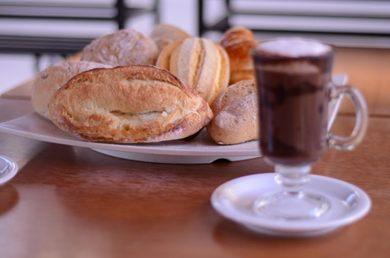 A fermentação natural é o diferencial nos pães servidos na El Panadero (Jhonatan Vieira/Esp. CB/D.A Press)