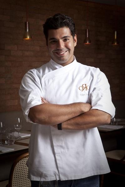 Chef e apresentador, Felipe Bronze é um dos maiores representantes da cozinha de vanguarda no país (Tomás Rangel/Divulgação)