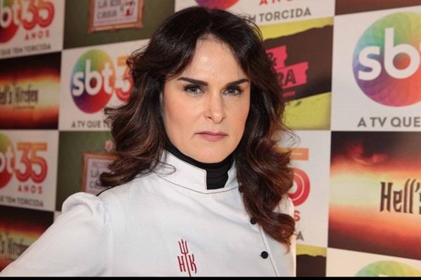 Nova temporada de 'Hell%u2019s Kitchen' terá a chef Danielle Dahoui   (SBT/Divulgação)