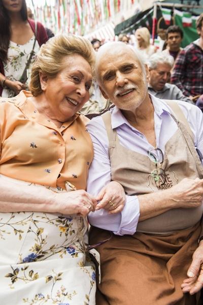 Os veteranos Aracy Balabanian e Francisco Cuoco interpretam um casal na nova novela das seis (Globo/João Miguel Júnior)