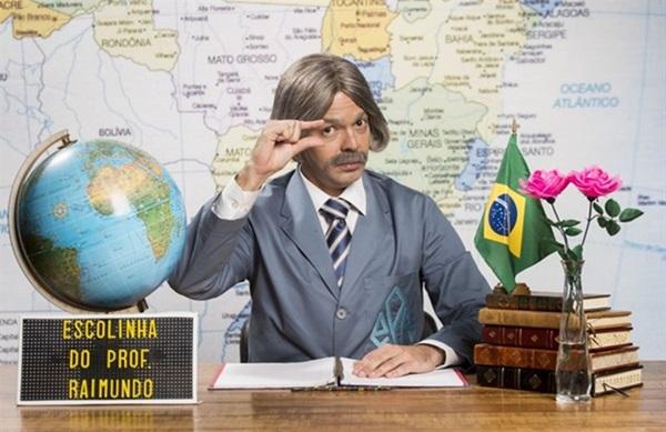 Lúcio Mauro Filho e Bruno Mazzeo retornam para encenar os papéis eternizados pelos pais  (João Miguel Junior/TV Globo )