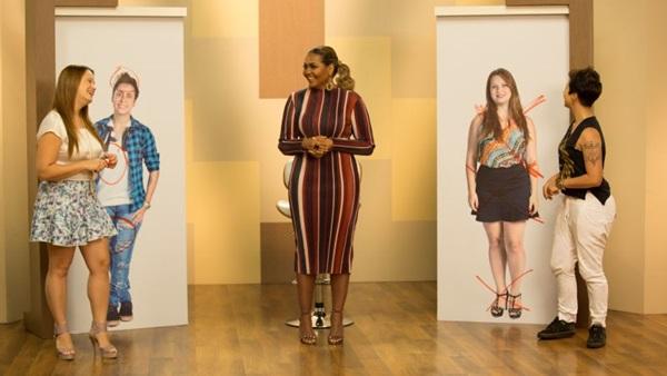 Gaby Amarantos recebe participantes que não aprovam o próprio estilo (Discovery/Divulgação)