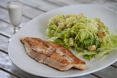 As saladas e os sucos são muito solicitados no Balada Mix (Carlos Moura/CB/D.A Press )