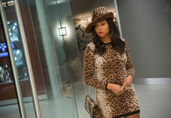 A atriz Taraji P. Henson representa Cookie no seriado Empire. (Reprodução da Internet)