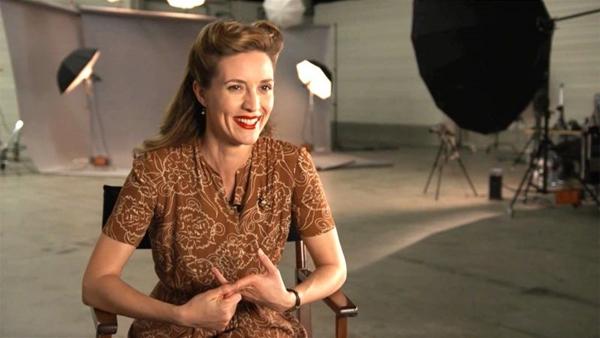 Apesar de canadense, a atriz é figura constante em filmes franceses (History Channel/Divulgação)