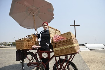 Fusão de brownie com bicicleta escancara as intenções da confeiteira Thaís Marega