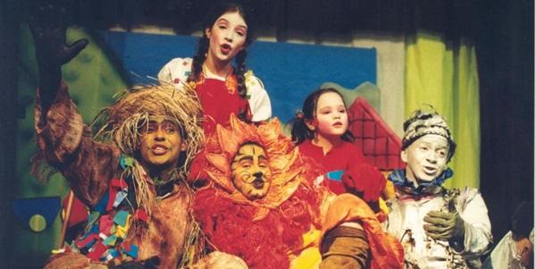Os atores da Cia. Mapati vão apresentar o espetáculo O mágico de Oz  no festival  (Kiko Catelli/Divulgacao.)