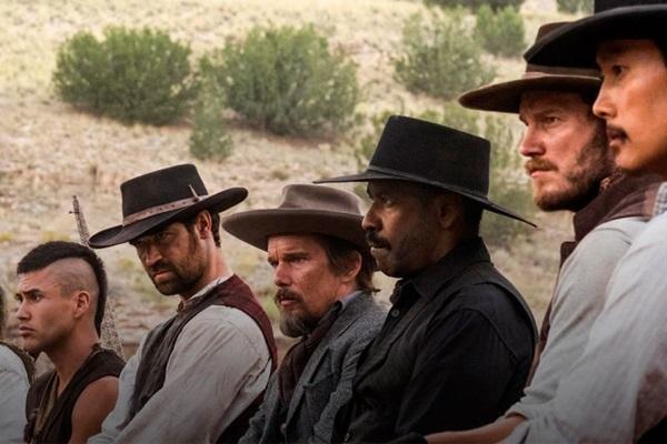 'Sete homens e um destino' constrói trama rodeada pela diversidade de seus personagens (MGM e Columbia Pictures/Divulgação)