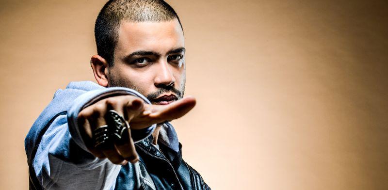 Projota é principal atração da Calourada UnB, que mistura hip hop, rock e funk a ambientação circense (Reprodução da Internet)