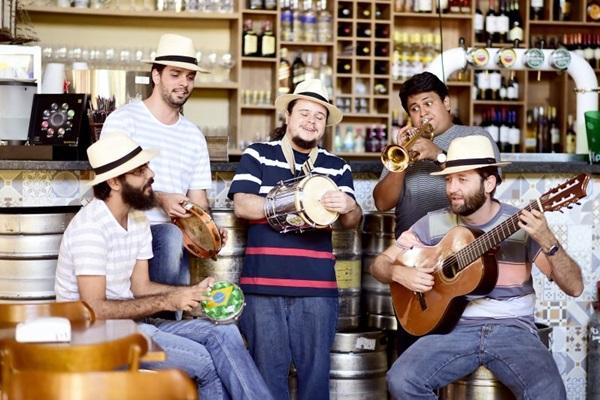 Grupo de samba de Goiânia se apresenta amanhã no Feitiço Mineiro (Heróis de Botequim/Divulgação)