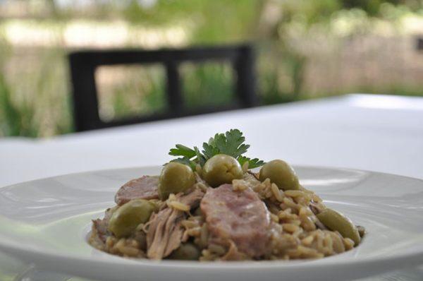 Clássico do Tejo, arroz e arrozinho de pato fazem parte do menu fixo do restaurante português (Andre Violatti/Esp. CB/D.A Press)