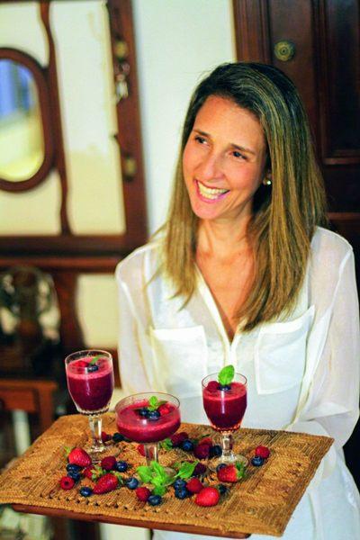 Natália Werutsky é autora do livro 'Cozinhando em família' (Isadora Mira/Divulgação)
