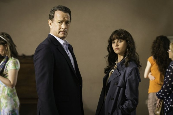 Tom Hanks e Felicity Jones interpretam Robert Langdon e Sienna Brooks  (Sony Pictures/Divulgação)