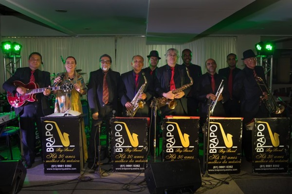 Brasília Popular Orquestra se apresenta no projeto Venha dançar  (MarceloDischinger/Divulgação)