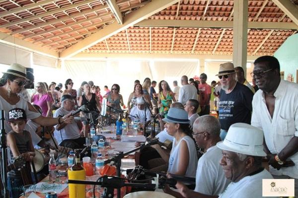 A velha guarda do samba brasiliense promove mais um evento (Reprodução/Facebook)