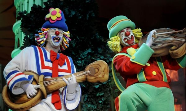 Patati Patatá apresentam o show 'Sorrir e brincar' (Gualter Naves/Divulgação)
