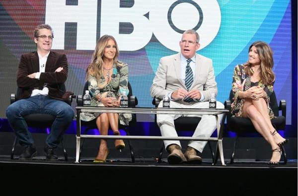 Aos 51 anos, a queridinha das séries volta em nova comédia da HBO (Frederick M. Brown)