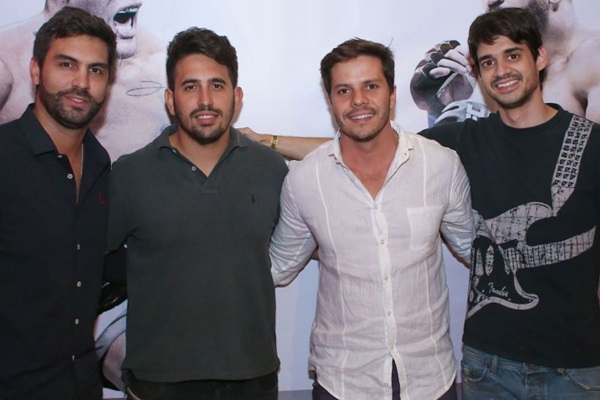 Bruno Sartório, Rafael Damas, Rick Emediato e Eduardo Alves são os sócios da produtora (Paulo Cavera/Divulgação)