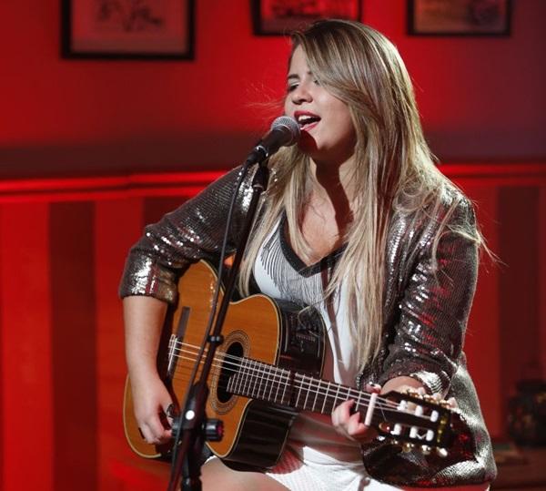A cantora é responsável pelos hits 'Infiel' e 'Eu sei de cor'  (Objetiva Comunicação/Divulgação)