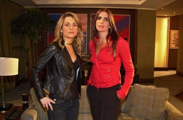 Em 'Celebridade', o Brasil vibrou com a surra de Maria Clara em Laura, personagem de Cláudia Abreu (Arquivo/TV Globo)