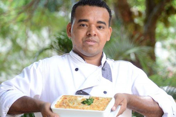 No Bartolomeu, o chef Almir Campos se arrisca e aposta em peixes como estrelas da lasanha (Andre Violatti/Esp.CB)