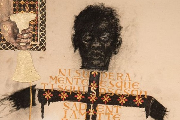 As obras de Obá questionam a posição histórica do corpo  (Francisco Moreira da Costa/Divulgação)