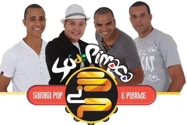 O grupo Só de Pirraça é a banda residente (Facebook/Reprodução)