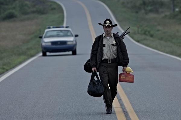 O ator Andrew Lincoln faz parte do elenco da série 'The Walking Dead' (Fox/Divulgação)