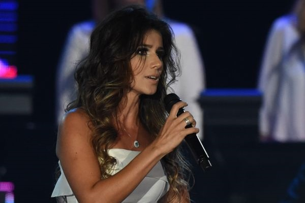 Paula Fernandes substituirá Ivete Sangalo no Teletom  (AFP PHOTO/MARK RALSTON )