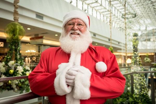O Bom Velhinho do Brasília Shopping chega amanhã e vai querer saber: você se comportou bem? (Telmo Ximenes/Divulgação)