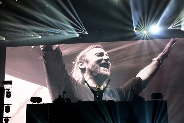 David Guetta está no Brasil e já passou por outras três cidades (Attila Kisbenedek)