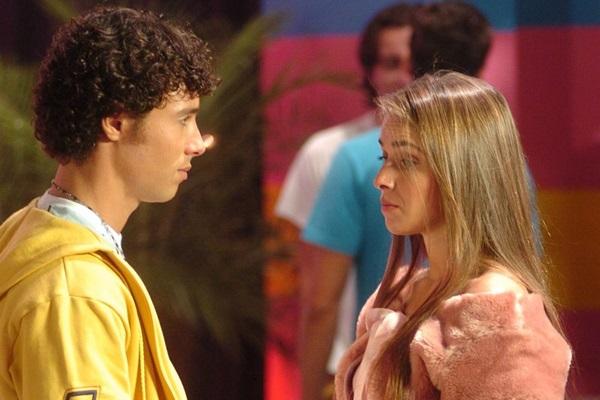 Como a vilã Priscila na temporada de 2006 de Malhação (TV Globo/Renato Rocha Miranda)