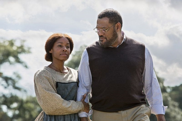 Laurence Fishburne interpreta o autor do livro, Alex Haley (Steve Dietl/History)