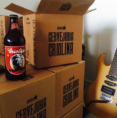 Reprodução Instagram (Primeiro rótulo da cervejaria Criolina, a breja Criolipa foi feita dentro dos moldes do estilo, com notas tropicais)