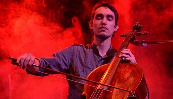 O violoncelista Raphael Evangelista dialoga com a música popular em show amanhã ( Kazuo Kajihara/Divulgação)