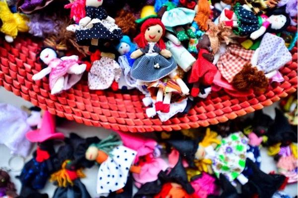 Artesanato local e nacional está exposto no Boulevard Shopping (Thaiane Zampierre/Divulgação)