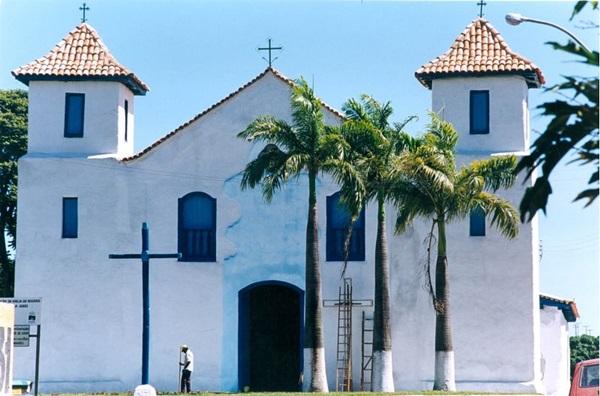A Igreja Nossa Senhora do Rosário foi construída por escravos no século 18 (Acácio Pinheiro/CB/D.A Press)